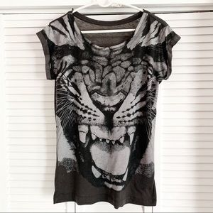 All Saints Tiger T Shirt